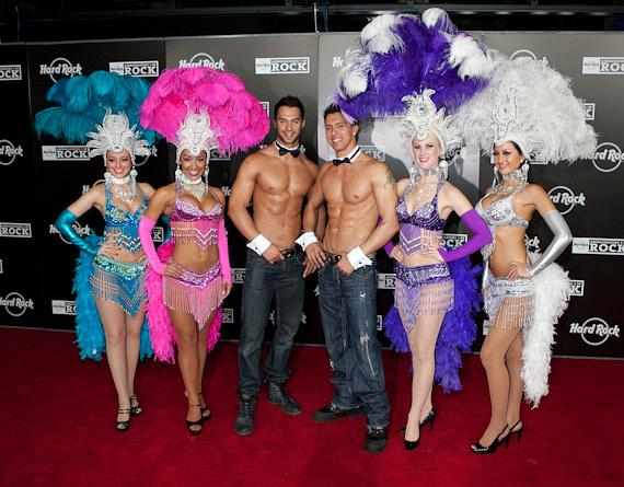 Chippendales and Showgirls