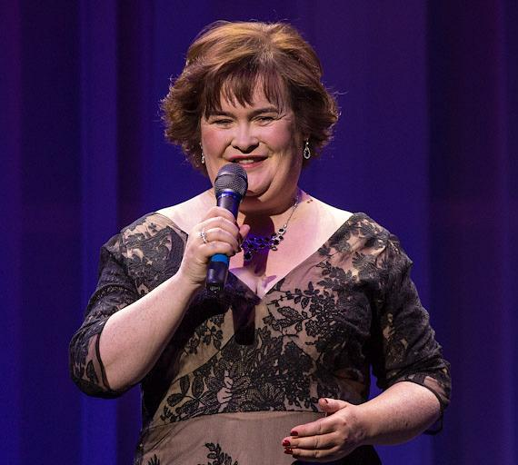 Susan Boyle performs at Flamingo Las Vegas