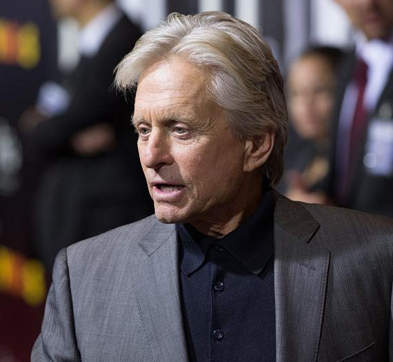 Michael Douglas at HAZE Nightclub in Las Vegas
