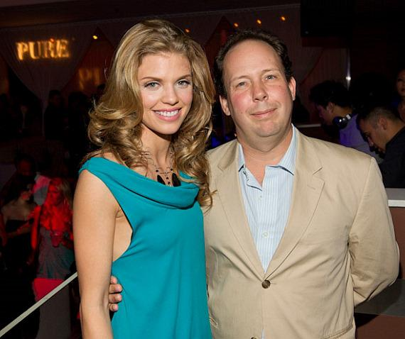 AnnaLynne McCord and Zack Rosenburg, CEO and Co-Founder of St. Bernard Project