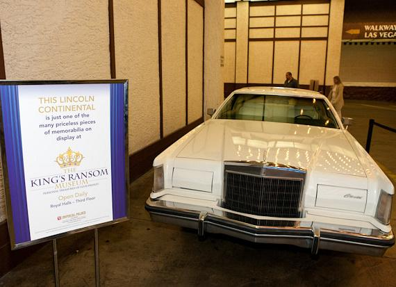 Elvis' 1977 Lincoln Continental