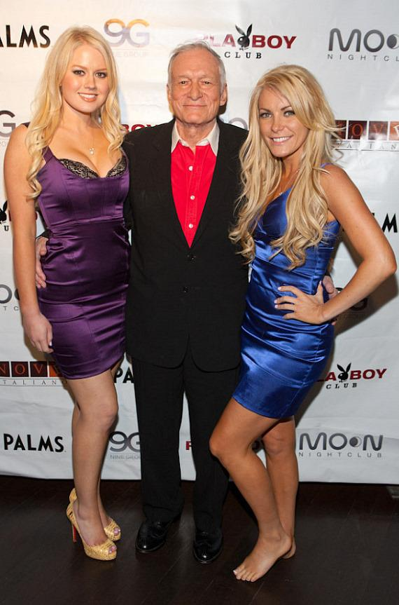 Hugh Hefner at Playboy Club