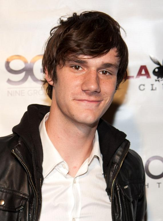 Hugh Hefner's son, Cooper Hefner 