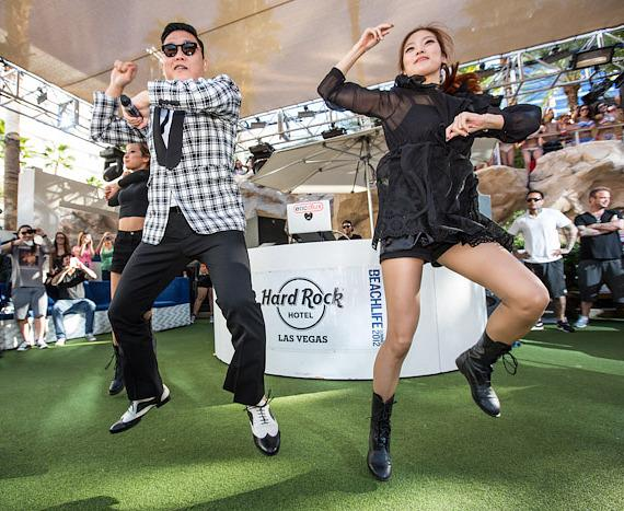 PSY performs 'Gangnam Style' at REHAB Sundays Season Closing Party