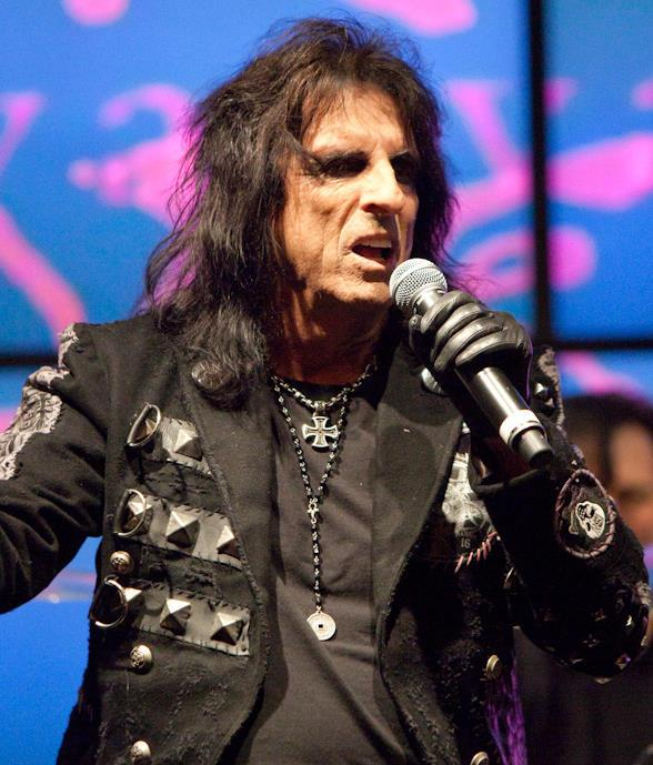 Alice Cooper Performs Inside John Varvatos Bowery NYC at Hard Rock Hotel