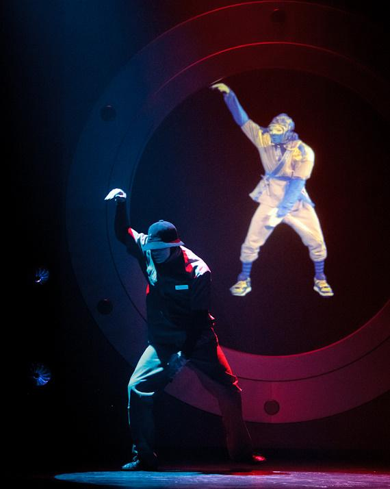 JabbaWockeeZ perform at Monte Carlo Resort and Casino in Las Vegas