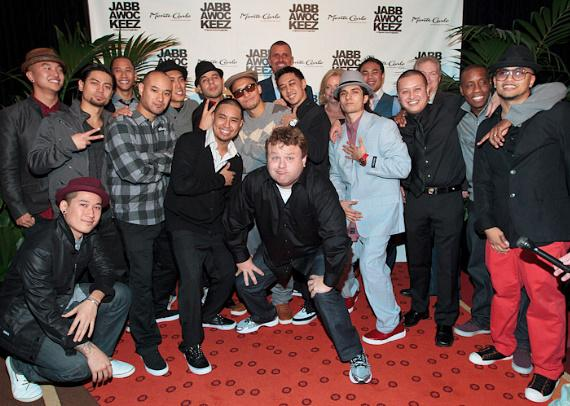Frank Caliendo with JabbaWockeeZ