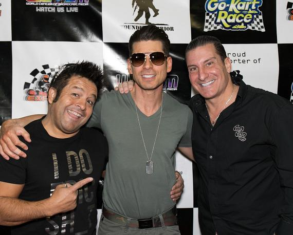 Comedian Mateo, Mike Hammer and