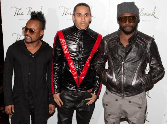 apl.de.ap, Taboo and Will.I.Am at Black Eyed Peas concert after party at The Bank