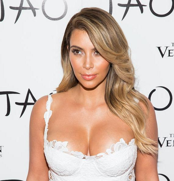 Kim Kardashian celebrates her 33rd birthday at TAO in The Venetian Las Vegas