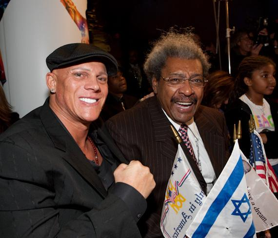 Johnny Brenden and Don King