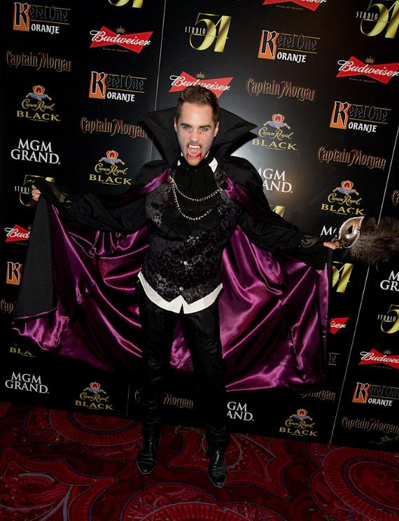 Josh Strickland at Annual 'Hollyween' Party at Studio 54