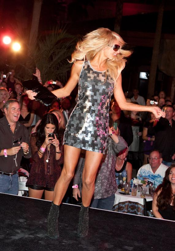 Paris Hilton Sunglass Launch and Fashion Show at Hard Rock Hotel