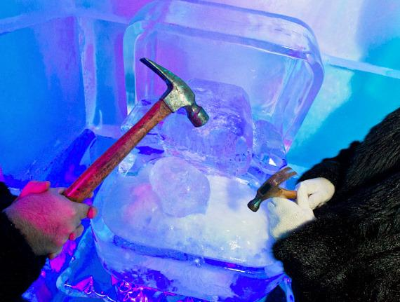 Ice Bar in Las Vegas