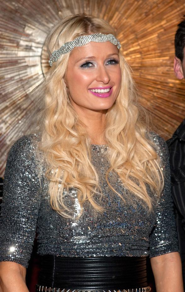 Paris Hilton Celebrates at Body English