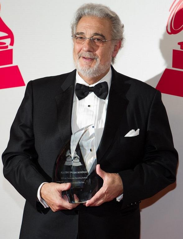 Placido Domingo receives the 2010 Latin Person of the Year Award