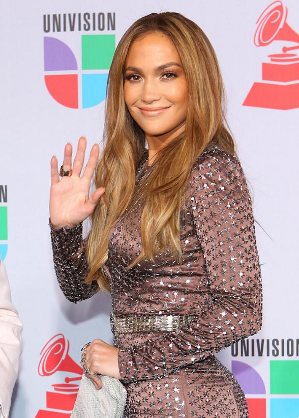 Jennifer Lopez at The 11th Annual Latin Grammy Awards at Mandalay Bay