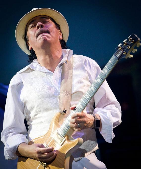 Carlos Santana completed his 2 year and first ever Rock and Roll Residency show, Supernatural Santana : A Trip Through The Hits at The Joint at Hard Rock Hotel & Casino