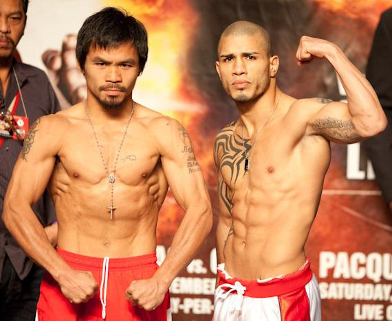 Manny Pacquiao and Miguel Cotto