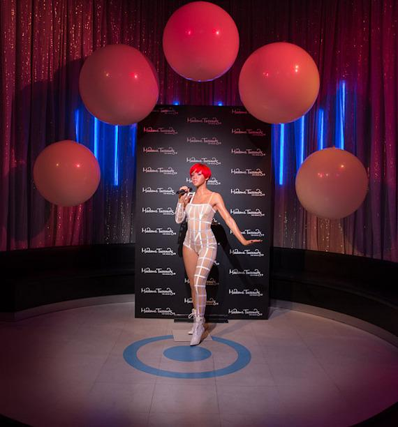 Madame Tussauds unveils wax figures of Rihanna in Las Vegas