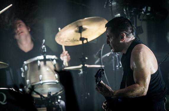 Nine Inch Nails perform at The Joint at Hard Rock Hotel & Casino in Las Vegas
