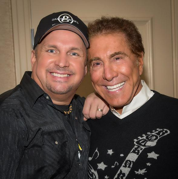 Garth Brooks and Steve Wynn