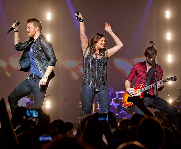 Lady Antebellum Perform to a Sold Out Crowd at The Joint at Hard Rock Hotel in Las Vegas