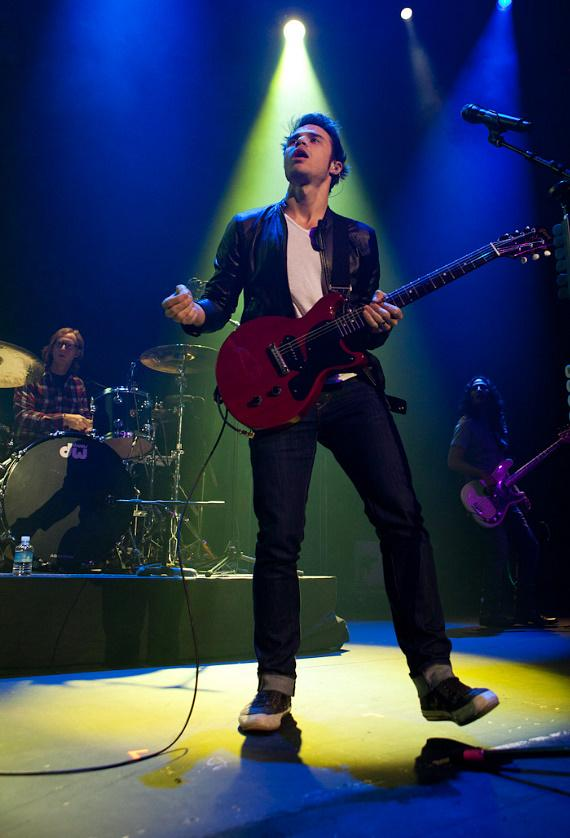 """American Idol"" Kris Allen performs at The Joint at Hard Rock Hotel in Las Vegas"