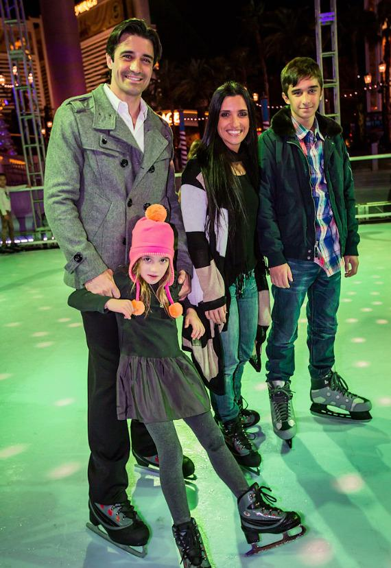 Gilles Marini and family