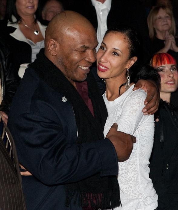 Mike Tyson and wife Lakiha Spicer