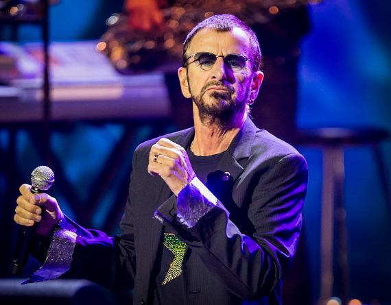 Ringo Starr performs at The Pearl in Las Vegas