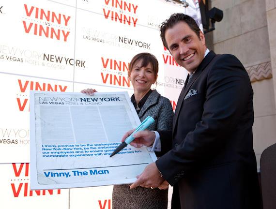 Winning Vinny Named in New York-New York Spokesperson Competition
