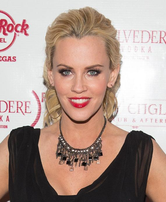 Jenny McCarthy on red carpet at Body English