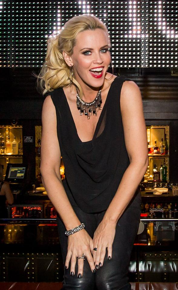 Jenny McCarthy Hosts at Body English at Hard Rock Hotel Las Vegas