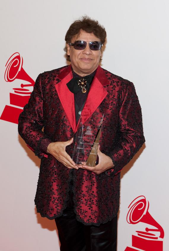 Juan Gabriel who was honored as Person of The Year