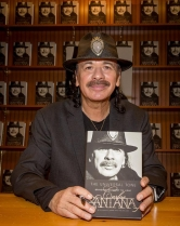 "Carlos Santana Signs his Book ""THE UNIVERSAL TONE: Bringing My Story to Light"" at Barnes & Noble"