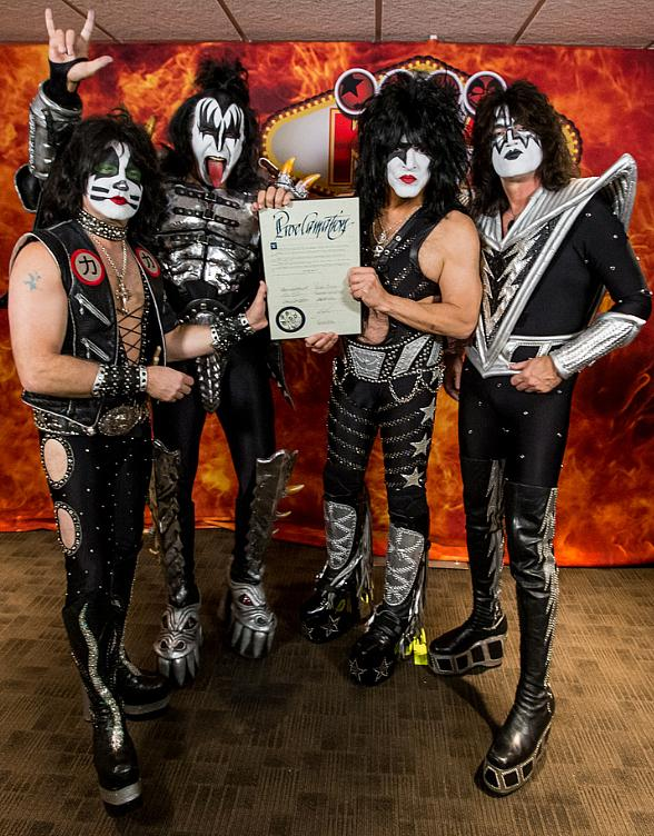 "Nov. 7 Declared ""Kiss Rocks Vegas Day"" in Honor of KISS' First-Ever Residency at The Joint in Hard Rock Hotel & Casino"