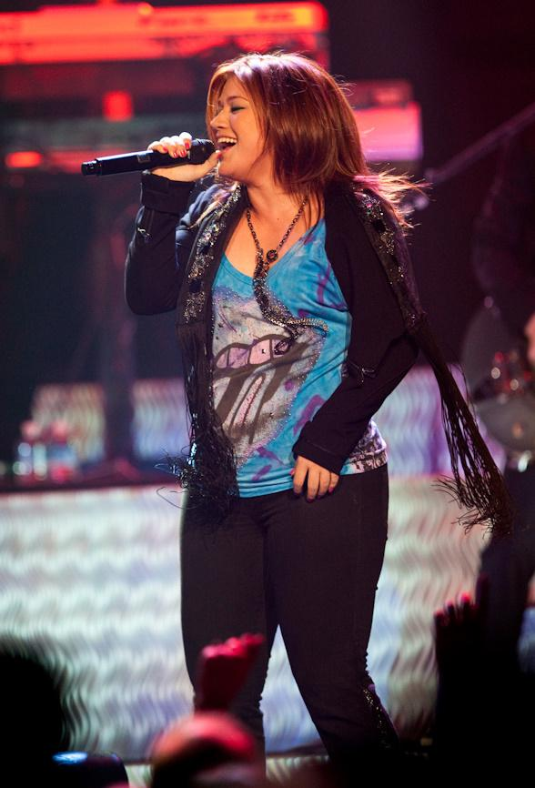 Kelly Clarkson Performs at The Joint at Hard Rock Hotel & Casino