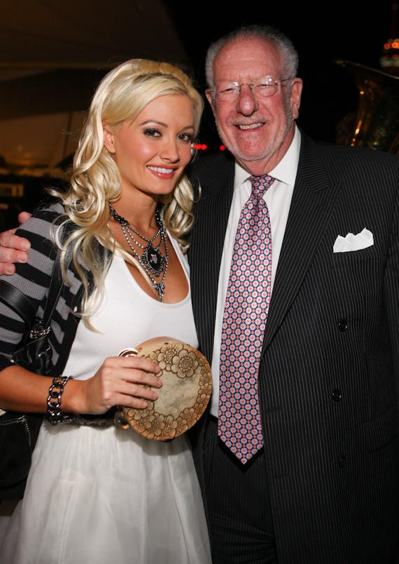 Holly Madison and Mayor Oscar Goodman