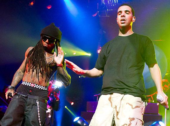 Drake+and+lil+wayne+pics