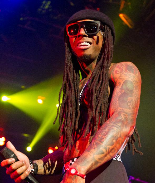 Lil Wayne performs with Drake at The Joint in Las Vegas