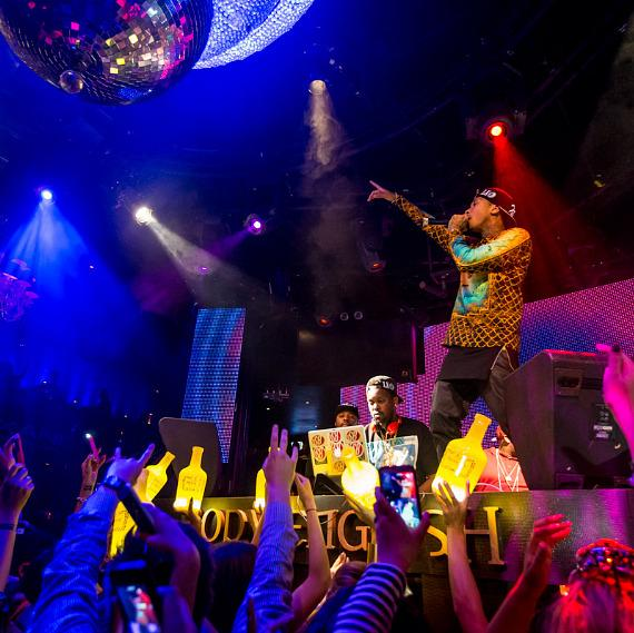 TYGA performs at Body English at Hard Rock Hotel & Casino in Las Vegas