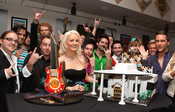 Holly Madison with Moksha, Ricardo Laguna, Recycled Percussion, Dan Sperry, Travis Cloer, Laura Croft, Chris Phillips, Josh Strickland
