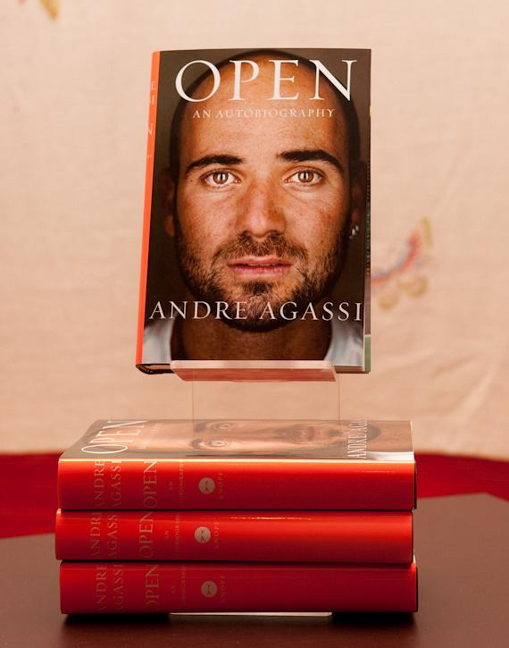 Andre Agassi's new book OPEN: An Autobiography