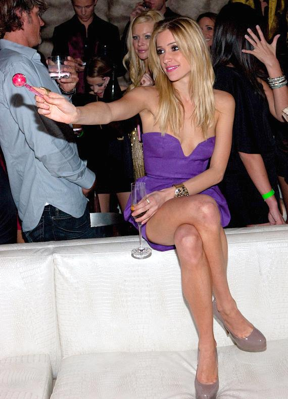 Kristin Cavallari with Sugar Factory Couture Lollipop