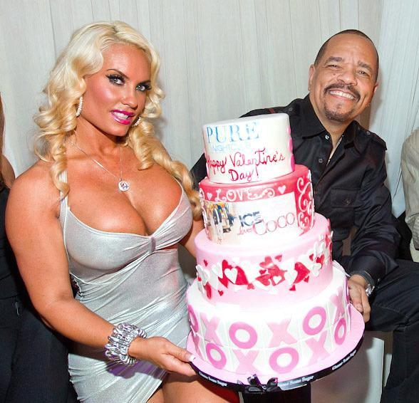 "Ice-T and Coco Party at PURE Nightclub to Celebrate 2nd Season of ""Ice Loves Coco"" and Valentine"