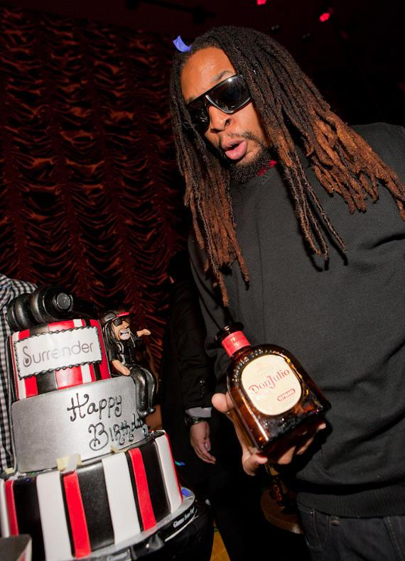"Resident DJ and ""Celebrity Apprentice"" star Lil Jon celebrates birthday at Surrender Nightclub"
