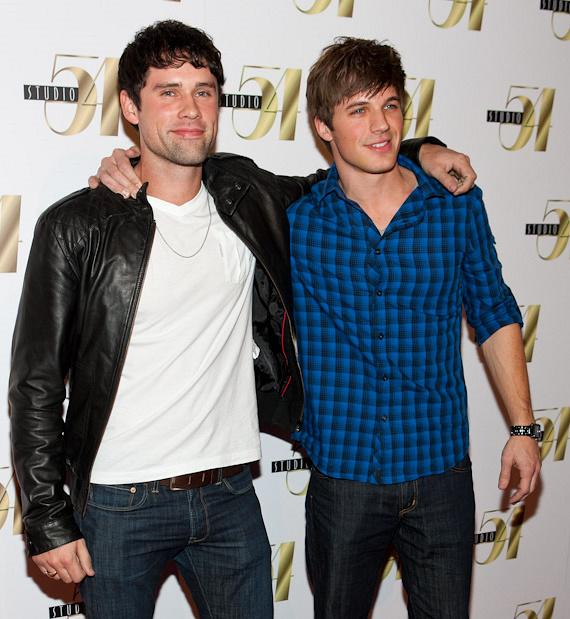 Ben Hollingsworth and Matt Lanter
