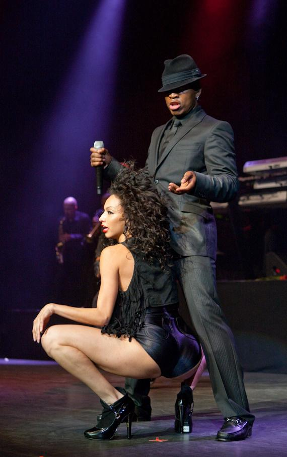 Ne-Yo with dancer Lisa Rosenthal