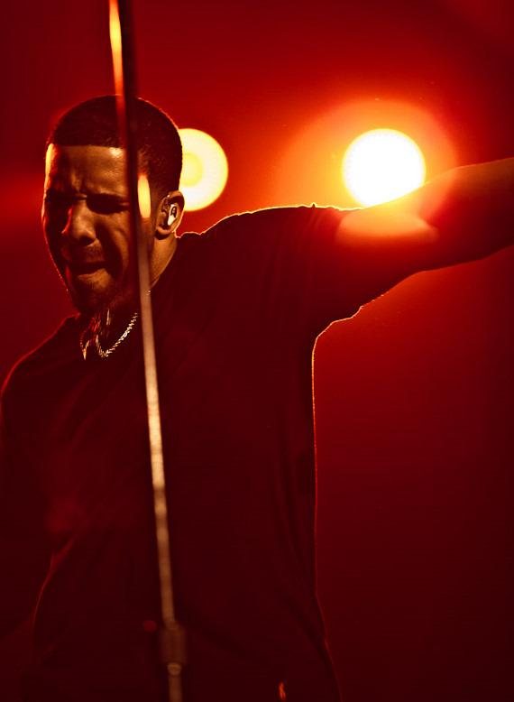 Drake performs to a sold out crowd at The Joint at Hard Rock Hotel & Casino in Las Vegas